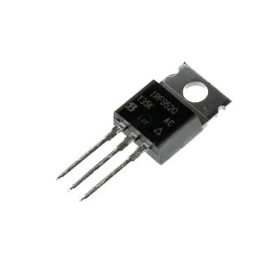 IRF9520, IRF9520PBF P-Channel, Power MOSFET, 100V - 6.8A - 0.6Ω, Pack:1, 2 or 5