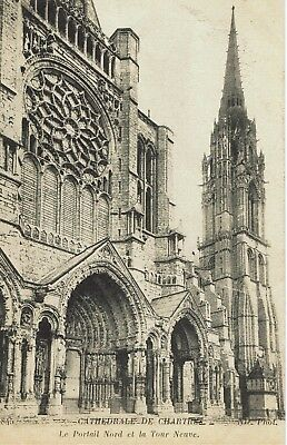 CPA-Carte postale -FRANCE -CHARTRES - Sa Cathédrale (iv 753)