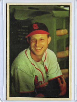Stan Musial 1953  Bowman BASEBALL card #32 St. Louis Cardinals / REPRINT
