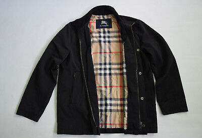 Burberry london men  SPORTS QUILT  BLACK Jacket size M
