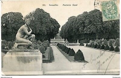 CPA-Carte postale - France -Versailles - Parterre Nord - 1907 (CP1377)