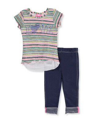 Girls Luv Pink Little Girls' 2-Piece Outfit (Sizes 4 - 6X)