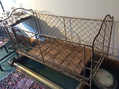 Antique French Metal Day Bed Cot
