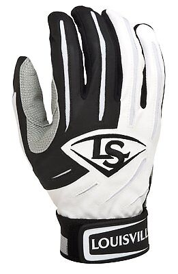 Kids Batting Glove - Louisville slugger Youth Series 5 - Small - Black White