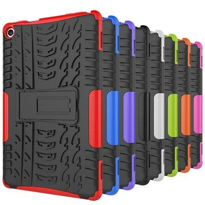 Amazon Kindle Fire HD8 (2018) Shockproof Hybrid Protective Stand Case Cover