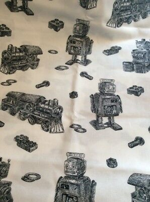 Trains And LEGO And Robots Cotton Stand Pillowcase
