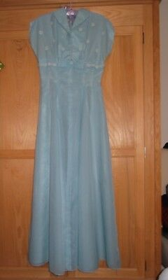 Vintage 1950s Handmade Evening Dress / Bridesmaid Dress , Size 10