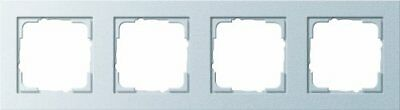 GIRA E2 - switch plates & outlet covers (Aluminium, Thermoplastic, Screwless)