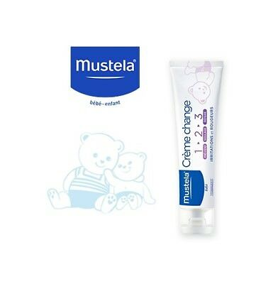 MUSTELA BEBE ENFANT Cr pour le change 1 > 2 > 3 T/100ml - lot de 2 tubes 100 ml