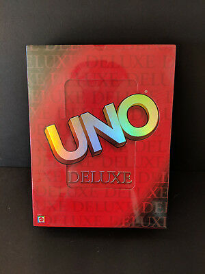 Factory Sealed Card Game Uno Complete With Instructions Mattel