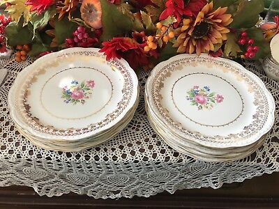 VINTAGE 1950S Stetson American Beauty Dinner plates lot of 6 ...