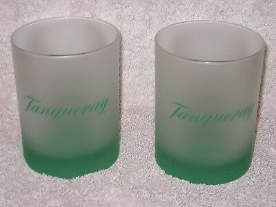 2 vintage Tanqueray Hi-Ball Glasses