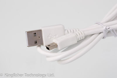 90cm USB White Charger Power Cable for Logitech Harmony 200 Remote Control