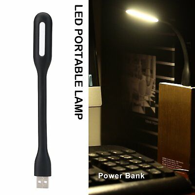Flexible Mini USB LED Light Lamp for Laptop Power Bank Portable Night Light