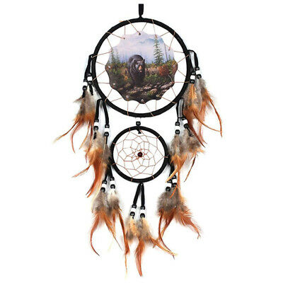1PC Handmade Dream Catcher With Feathers Wall Hanging Decoration Ornament(s M7M3