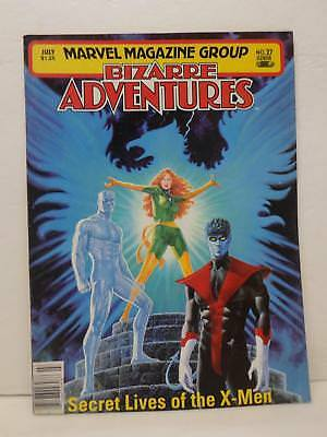 Marvel Magazine Group Bizarre Adventures Issue No. 27 Secret Lives Of The X-men