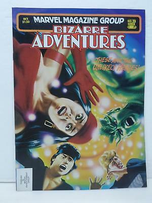 Marvel Magazine Group Bizarre Adventures Unlikely Heroes Issue No. 28