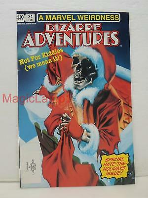 Marvel Magazine Group Bizarre Adventures Special Hate-The-Holidays Issue No. 34