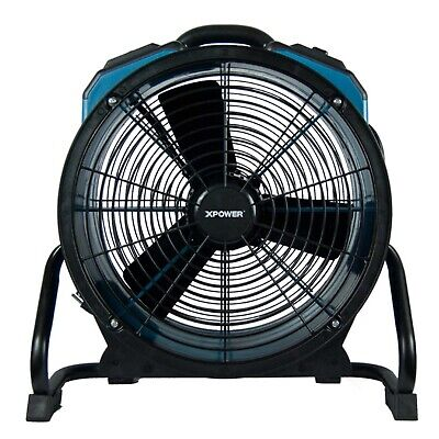 XPOWER 225 Watt Turbo-pro Axial Air Mover With Sealed Motor X-47ATR, Lightweight