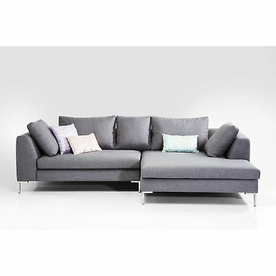 sofa ecksofa designersofa gianni ottomane rechts grau neu kare design eur picclick de. Black Bedroom Furniture Sets. Home Design Ideas