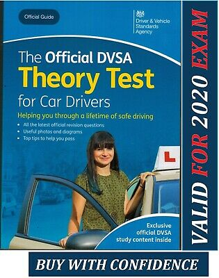 Theory Test Car Drivers Book for 2019 Official DVSA Driving - ThryBk