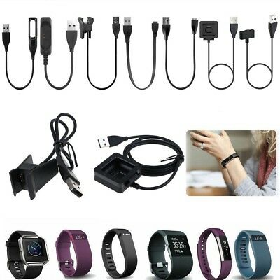USB Charger Cables Charging For FitBit Flex 2 Charge 2 Alta HR Blaze Surge Ionic