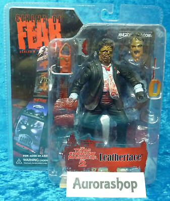 Mezco Leatherface The Texas Chainsaw Massacre Part 2 nicht Movie Maniacs o. Neca