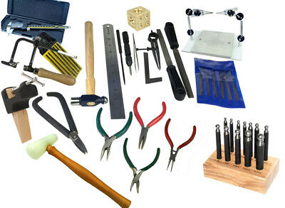 Uni Student Tool Kit Created by us, Solder Board, Files, Pliers, Punches. J1434
