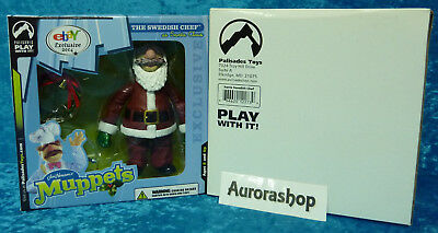 Palisades The Swedish Chef as Santa Claus ebay Exclusive 2004 / Muppet Show neu