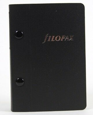 Filofax Archivordner Pocket in schwarz