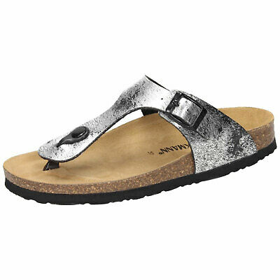 b28a95c8cd8c01 Dr. Brinkmann 701116 comfy Thong sandal Women Flip Flops beach footbed - NEW