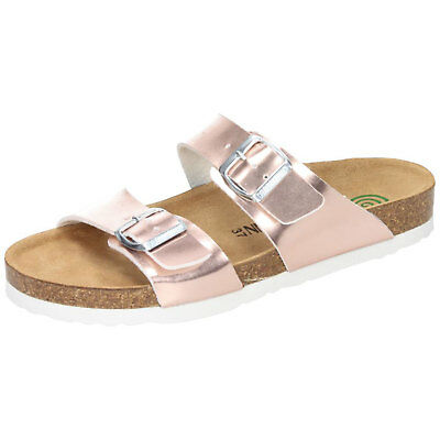 16c193ed242bc3 Dr. Brinkmann 701175 comfy Scuff Women Slides slippers footbed sandals - NEW