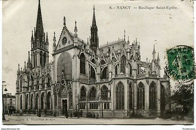 CPA-Carte postale-  France -Nancy - Basilique Saint Epvre - 1928 (CP1409)