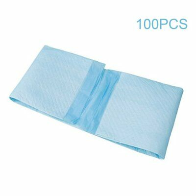 100 Pcs Super Absorbent Disposable Pets Dogs Indoor Toilet Training Pads GP