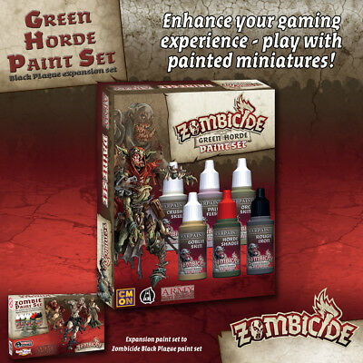 Zombicide Green Horde Paint Set - *The Army Painter*