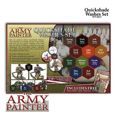 Warpaints Washes Paint Set - *The Army Painter*