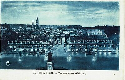 CPA-Carte postale-  France -NANCY - Vue Panoramique la nuit(iv 794)