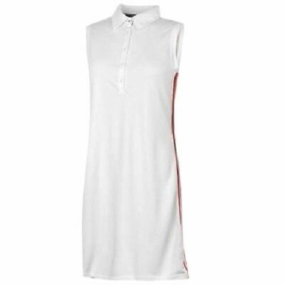 TOMMY HILFIGER POLO DRESS & SHORTS NADINE GOLF WHITE UK 12 Medium RRP £90 B432