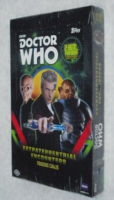 Topps Doctor Who Extraterrestrial Encounters Trading Cards 24 Pack Box New