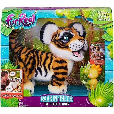 95f5f0c33cbb0 FURREAL ROARIN TYLER, the cute Kids Playful Stripe Tiger Furry Pet Toy