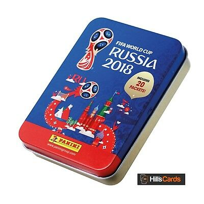 Fifa World Cup 2018 Football Sticker Collection: Mega Tin - Inc 20 Packets