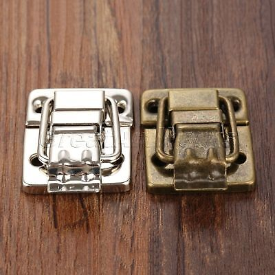 New Jewelry Box Chest Suitcase Clip Toggle Latch Catch Hasp Trinket Hardware
