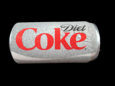 Diet Coke Can Blow Mold Christmas Ornament Frosted Look