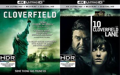 Cloverfield (10 Lane)(2 Movie Pack)(4K Ultra HD)(UHD)(Dolby Vision)