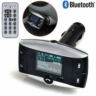 Bluetooth FM Transmitter Modulator Car Kit MP3 Player USB with Remote Controller
