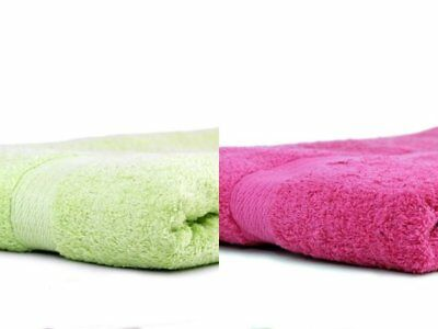 PACK OF 3 LIME PINK 100% EGYPTIAN COTTON BATH SHEETS TOWELS XL SIZE 90x140 JUMBO