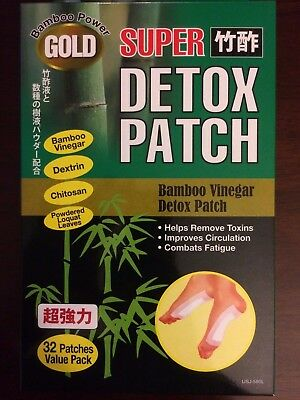Super Bamboo Vinegar Detox Patch (32 Patches)