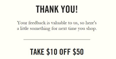 Abercrombie & Fitch $10 off $50 expires 9/16/19