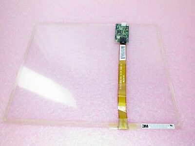 "3M MicroTouch 17-8771-226 E155649 EXII-7760UC | 15.1"" Touchscreen Glass Panel"
