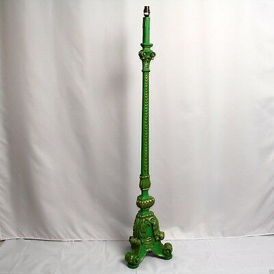Antique Regency Torchere Carved Lamp Stand Refinished Georgian c.1830 53in H